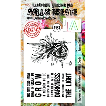 AALL & Create BOUQUET SMALL Clear Stamp Set aal00183