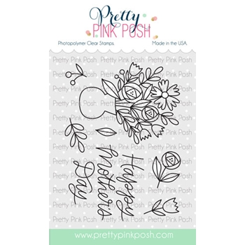 Pretty Pink Posh MOTHER'S DAY Clear Stamps