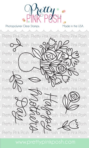 Pretty Pink Posh MOTHER'S DAY Clear Stamps zoom image