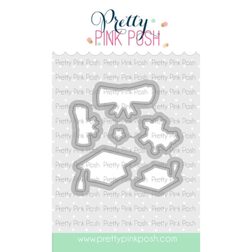 Pretty Pink Posh CONGRATS GRAD Dies  Preview Image