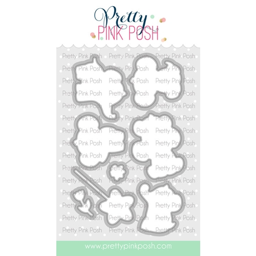 Pretty Pink Posh ELEPHANT FRIENDS Dies  Preview Image