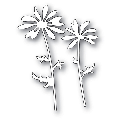 Memory Box DAISY SILHOUETTE Craft Dies 94249 Preview Image
