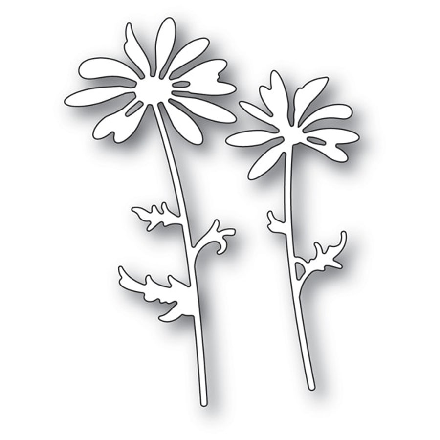 Memory Box DAISY SILHOUETTE Craft Dies 94249 zoom image