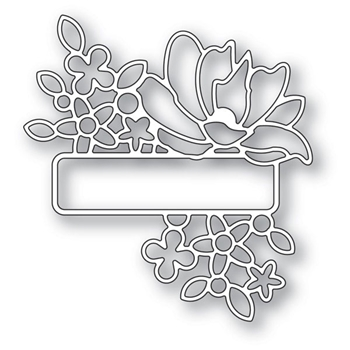 Memory Box ANTIQUE GARDEN LABEL Craft Die 94259