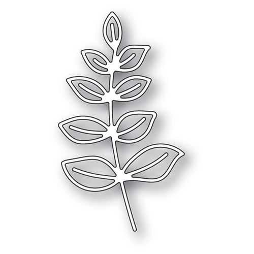 Memory Box SCRIBBLE LEAFY BRANCH OUTLINE Craft Die 94274 Preview Image