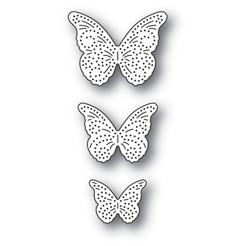 Memory Box PINPOINT BUTTERFLY TRIO Craft Dies 94279 Preview Image