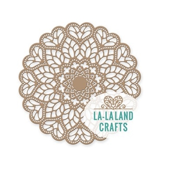 La-La Land Crafts MANDALA DOILY Die 8455