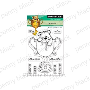 Penny Black Clear Stamps NUMBER 1 30-537