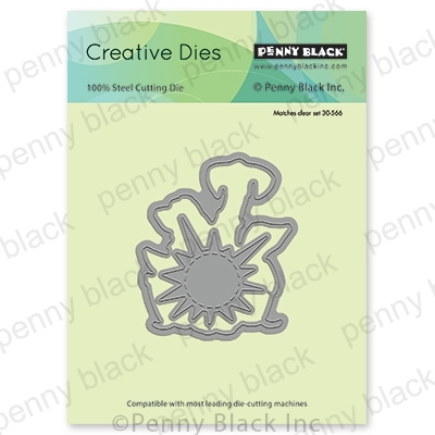 Penny Black FRIENDSHIP CUT OUT Thin Metal Creative Dies 51-540 zoom image