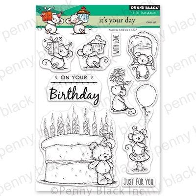 Penny Black Clear Stamps IT'S YOUR DAY 30-553 zoom image
