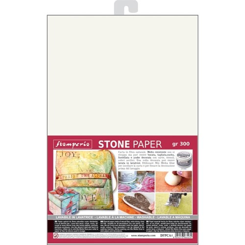 Stamperia WASHABLE STONE PAPER dfpca4 Preview Image