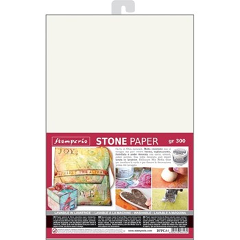 Stamperia WASHABLE STONE PAPER dfpca4