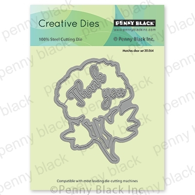 Penny Black BLUSHING CUT OUT Thin Metal Creative Dies 51-536 zoom image