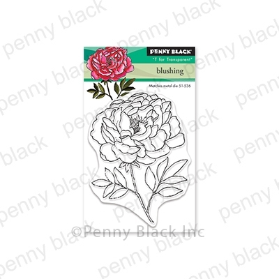 Penny Black Clear Stamps BLUSHING 30-564 zoom image
