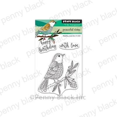 Penny Black Clear Stamps PEACEFUL TIME 30-571 zoom image