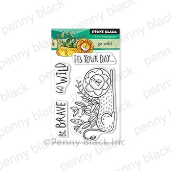 Penny Black Clear Stamps GO WILD 30-585
