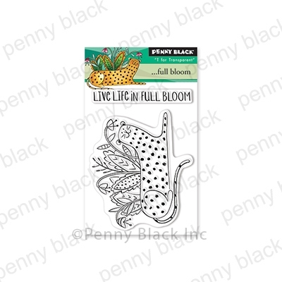 Penny Black Clear Stamps FULL BLOOM 30-581 Preview Image