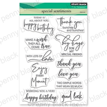 Penny Black Clear Stamps SPECIAL SENTIMENTS 30-574