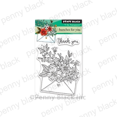 Penny Black Clear Stamps BUNCHES FOR YOU 30-570 zoom image