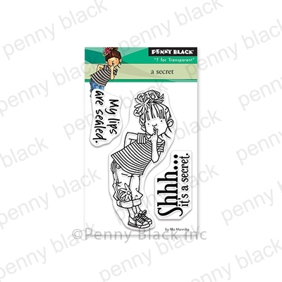 Penny Black Clear Stamps A SECRET 30-568 zoom image