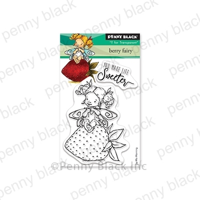 Penny Black Clear Stamps BERRY FAIRY 30-567 Preview Image