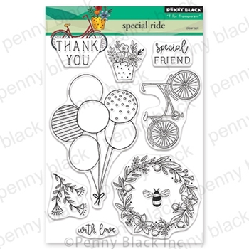 Penny Black Clear Stamps SPECIAL RIDE 30-551