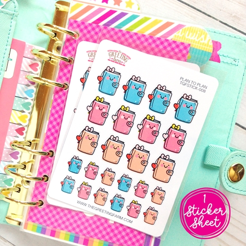 The Greeting Farm PLAN TO PLAN Stickers TGF483 * Preview Image