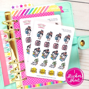 The Greeting Farm TIME TO TRAVEL Stickers TGF485