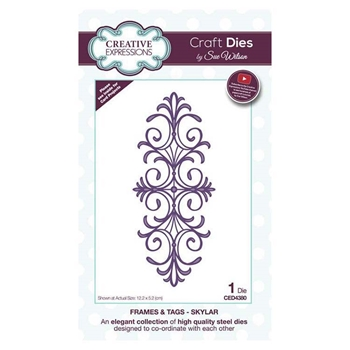 Creative Expressions SKYLAR Sue Wilson Frames and Tags Collection Die Set ced4380