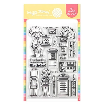 Waffle Flower OYEZ Clear Stamps 271245