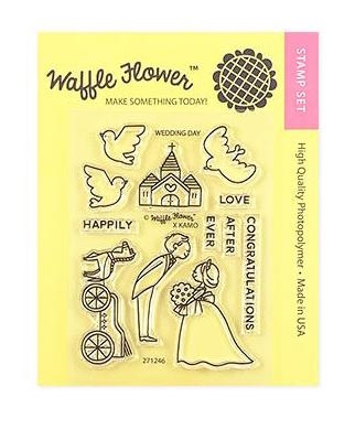Waffle Flower WEDDING DAY Clear Stamps 271246 zoom image