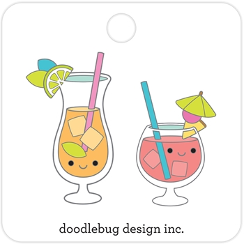Doodlebug PARADISE PUNCH Collectible Enamel Pins 5915