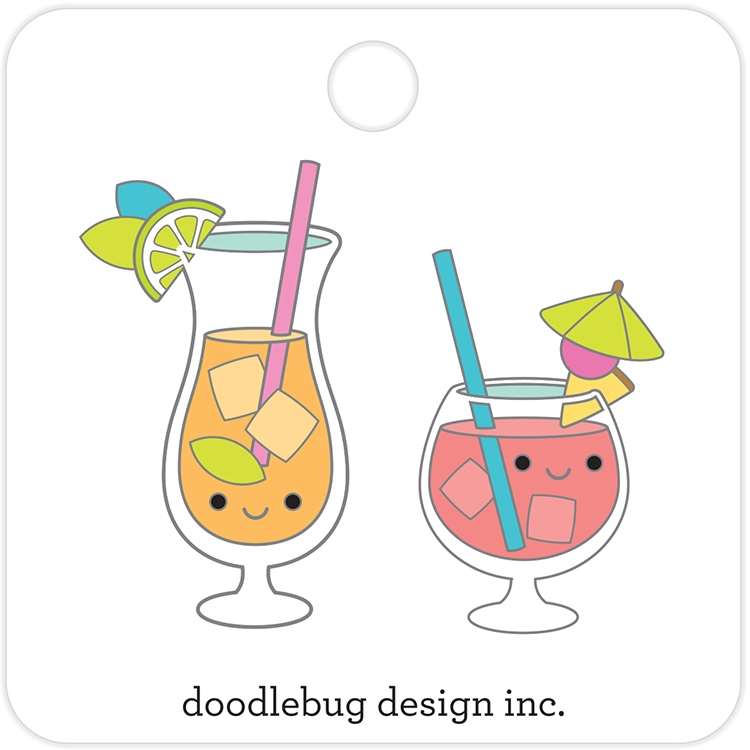 Doodlebug PARADISE PUNCH Collectible Enamel Pins 5915 zoom image