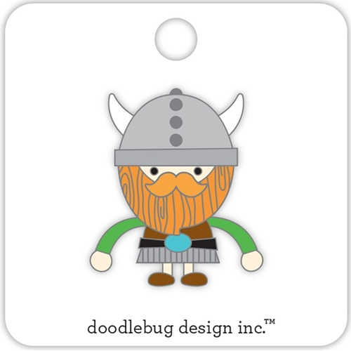 Doodlebug VIKING Collectible Enamel Pin 5698 Preview Image