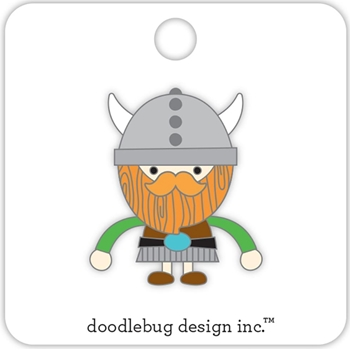 Doodlebug VIKING Collectible Enamel Pin 5698