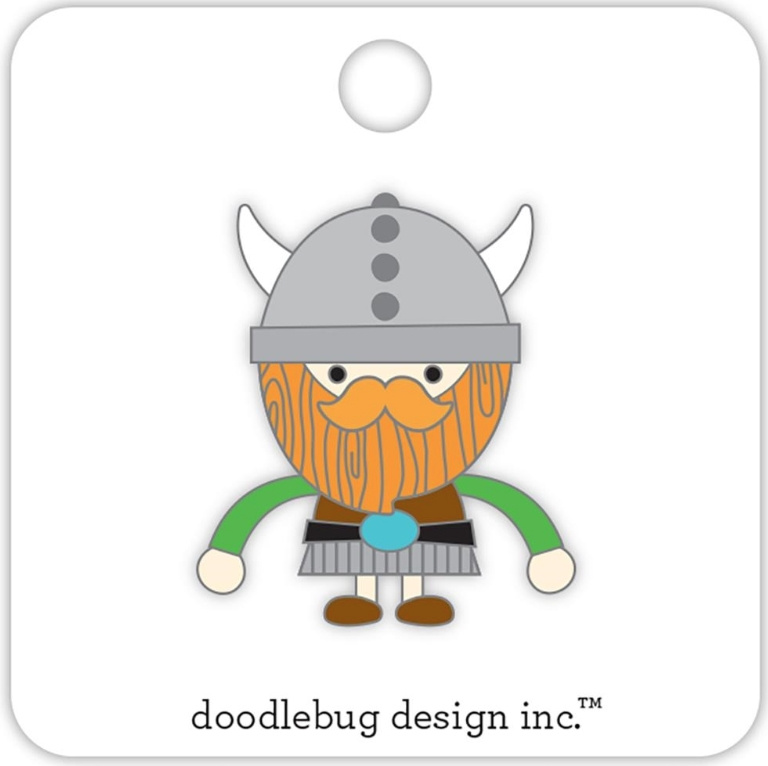 Doodlebug VIKING Collectible Enamel Pin 5698 zoom image