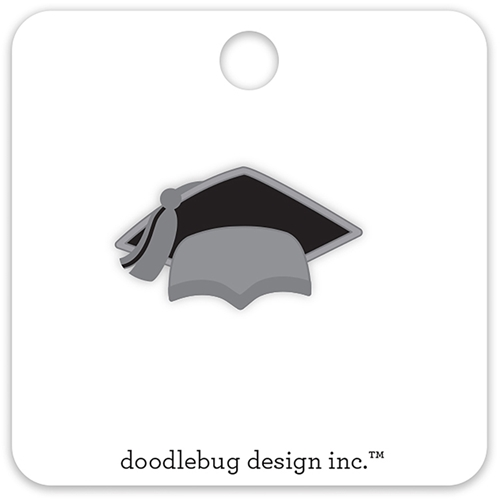 Doodlebug HATS OFF Collectible Enamel Pin 5692 Preview Image