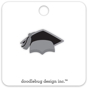 Doodlebug HATS OFF Collectible Enamel Pin 5692