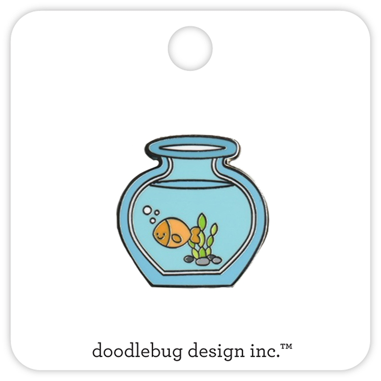 Doodlebug GOLDIE Collectible Enamel Pin 5308 zoom image