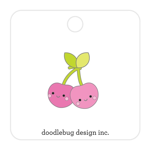 Doodlebug CHEERY CHERRIES Collectible Enamel Pin 5846 Preview Image