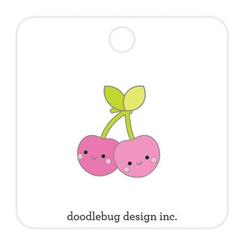 Doodlebug CHEERY CHERRIES Collectible Enamel Pin 5846