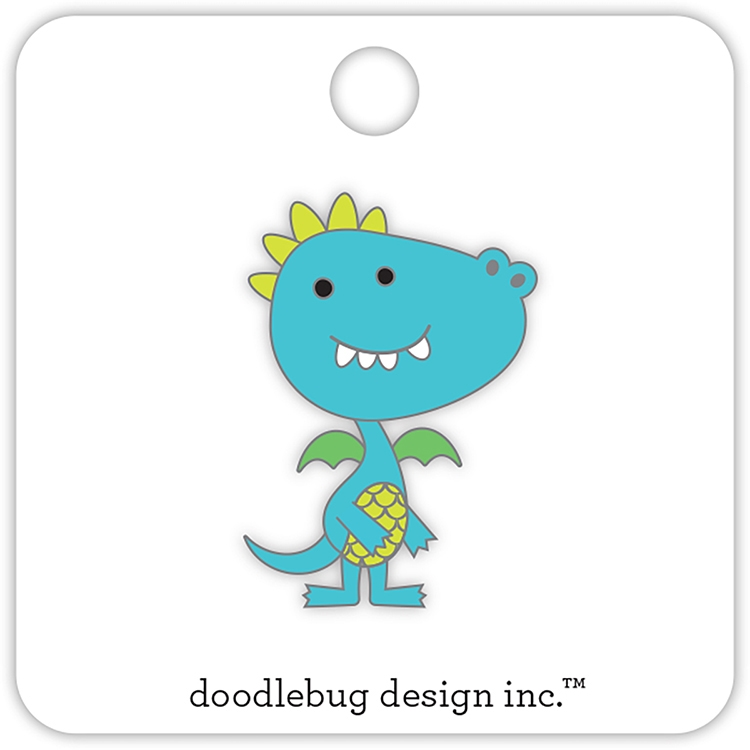 Doodlebug DRAGON Collectible Enamel Pin 5697 zoom image