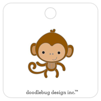 Doodlebug MONKEY Collectible Enamel Pin 5700