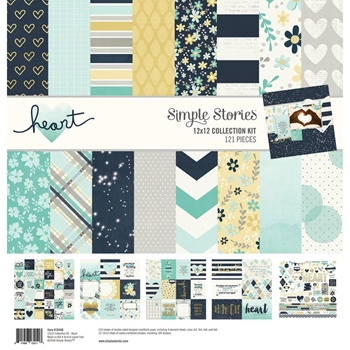 Simple Stories HEART 12 x 12 Collection Kit 10498
