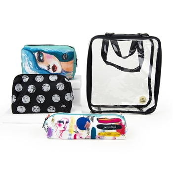 JDM-040 Spellbinders OPEN AND SHUT CASE STORAGE POUCHES from Making Faces by Jane Davenport