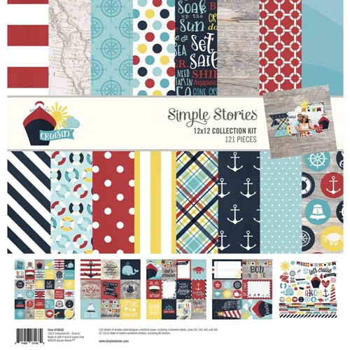 Simple Stories CRUISIN' 12 x 12 Collection Kit 10636 Preview Image
