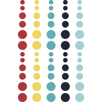 Simple Stories CRUISIN' Enamel Dots 10655
