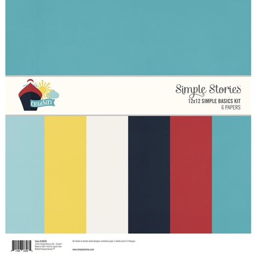 Simple Stories CRUISIN' 12 x 12 Basics Kit 10659 Preview Image