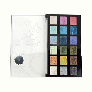 JDM-011 Spellbinders MINERAL EYES Palette Pastel Set from Making Faces by Jane Davenport