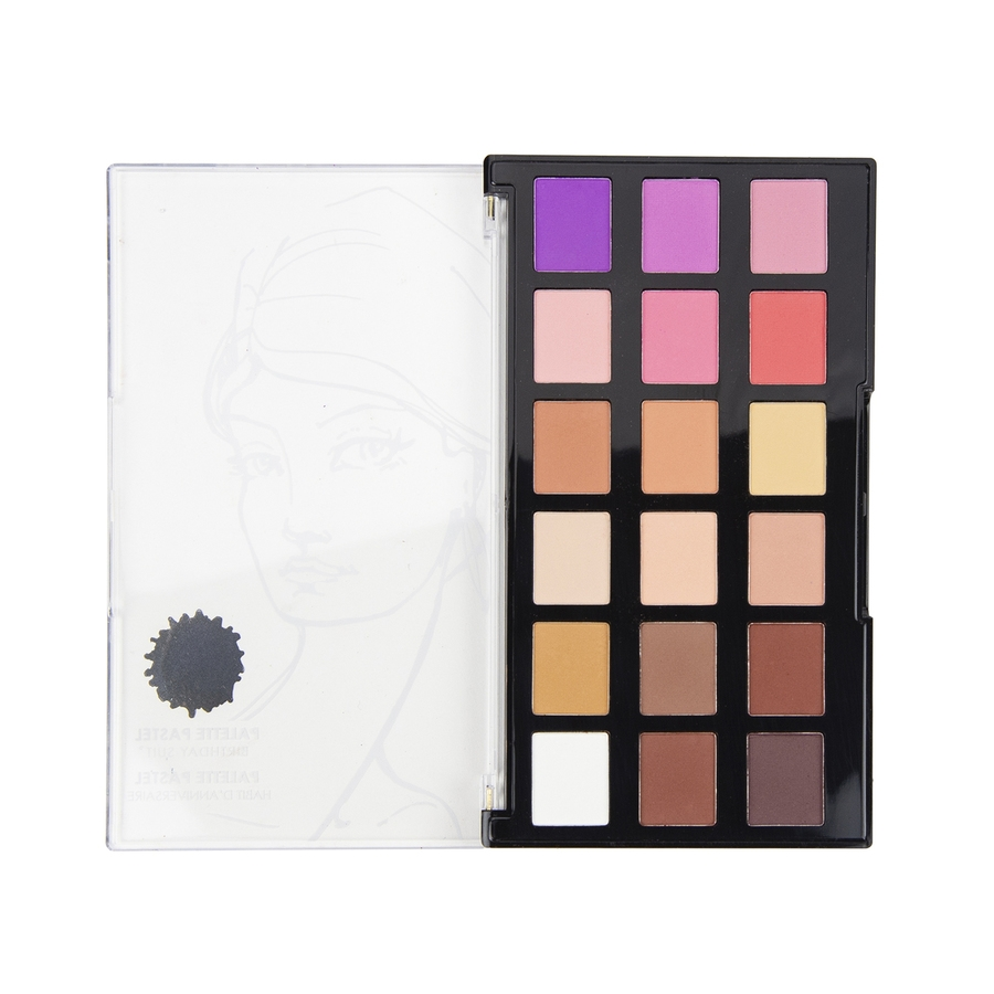 JDM-010 Spellbinders BIRTHDAY SUIT Palette Pastel Set from Making Faces by Jane Davenport zoom image